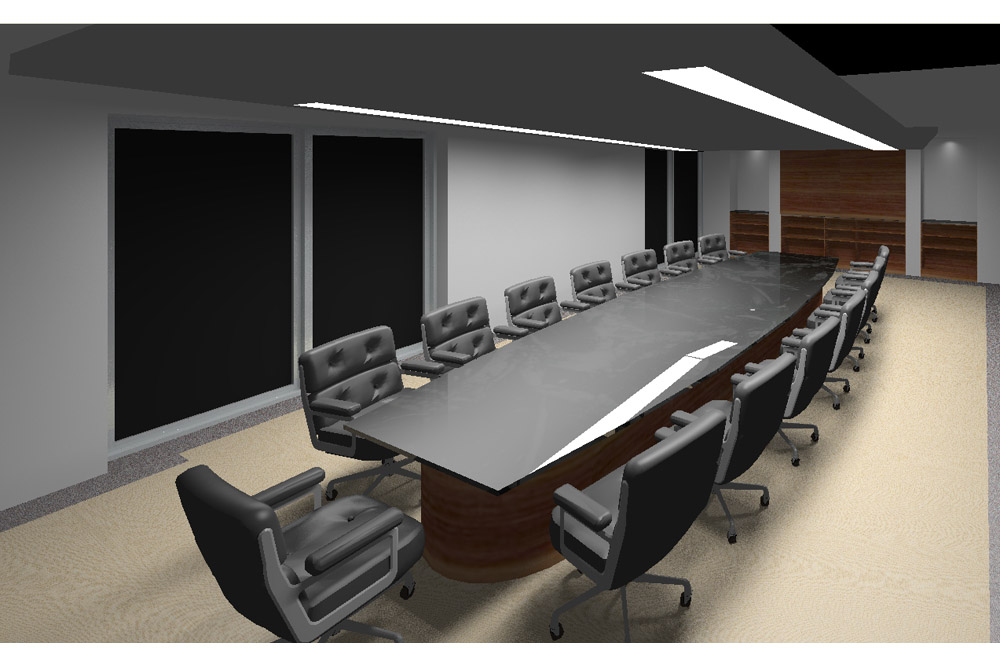 Board Room Rendering