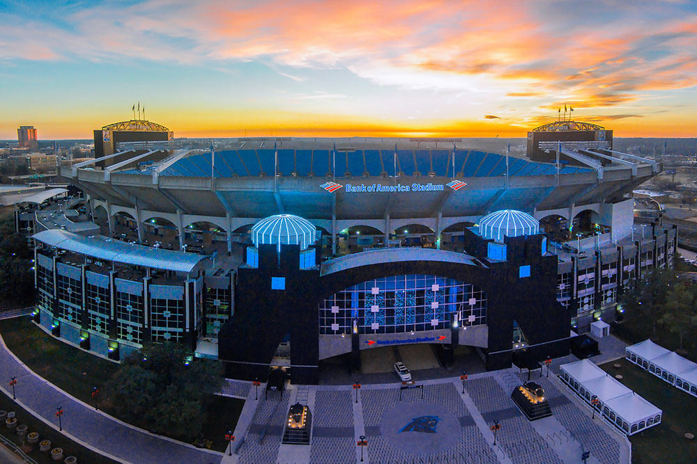 Carolina Panthers Stadium Charlotte